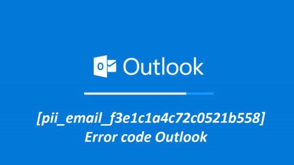 How to Fix,Solve Outlook [pii_email_f3e1c1a4c72c0521b558] Error code